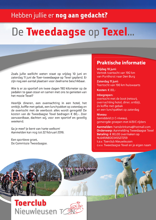 TCN FLYER TEXEL 2016 small